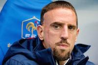 Franck Ribery lors du match de préparation au stade de France dans le cadre de la coupe du monde.<br />PHOTO JOHAN BEN AZZOUZ / LA VOIX DU NORD