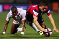 Pour la première journée de Ligue 1 au stade Marcel Picot, le lillois Éden HAZARD et les champions en titre ont concédé un nul face aux Lorrains (1 - 1).<br />PHOTO JOHAN BEN AZZOUZ / LA VOIX DU NORD